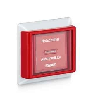 AS 500 Handauslösetaster/Unterbrechertaster mit Glasscheibe
