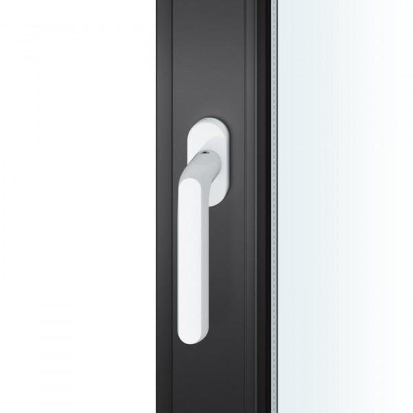 FSB 1246 Fenstergriff Aluminium weiß RAL 9016 8220