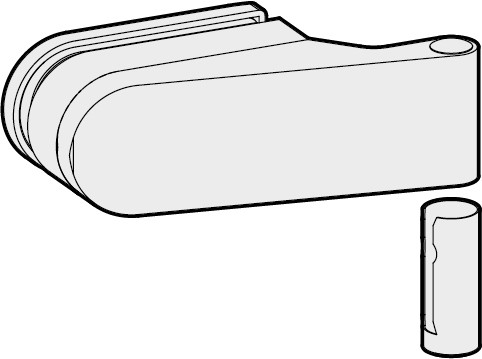 WSS STUDIO OLIS Türband mit Hülse, bis 45 mm Falztiefe 20.302. 20.308.